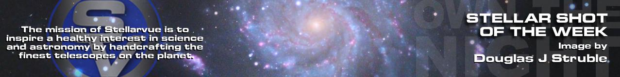 M101 Pinwheel Galaxy by Douglas J Struble