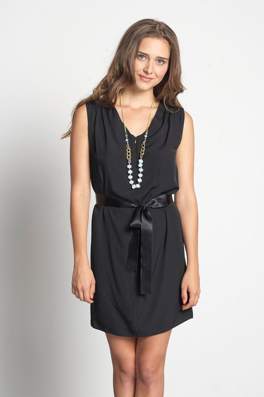 dc497681126ad Mothers En Vogue Tyvette Tie Nursing Dress, Black - Izzy's Mum