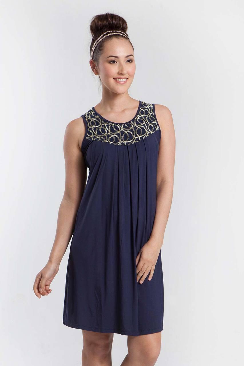 515b53cafae Mothers En Vogue Tresor Sleeveless Nursing Dress