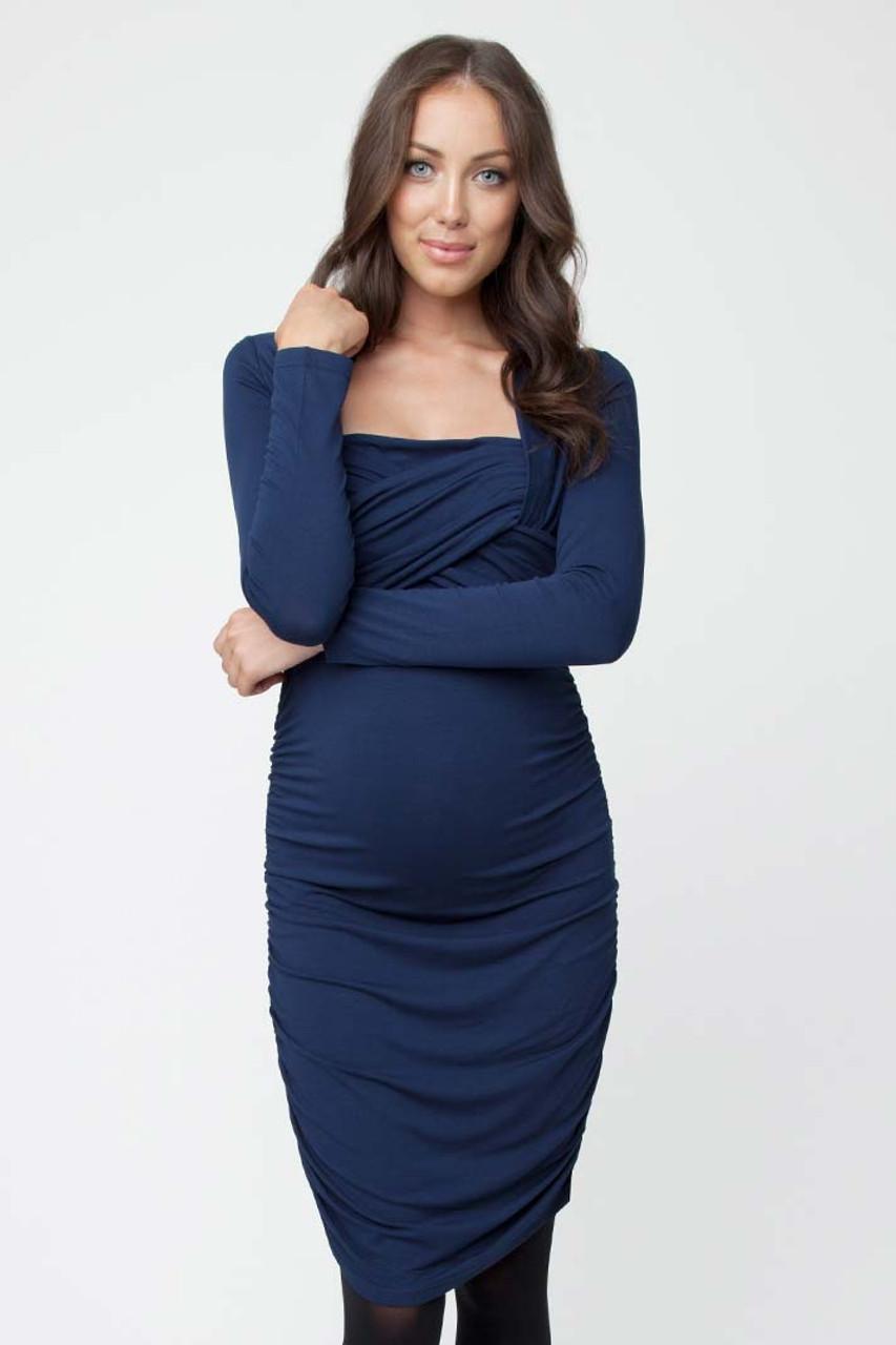 73d62811669 Ripe Maternity Harper Long Sleeve Nursing Dress
