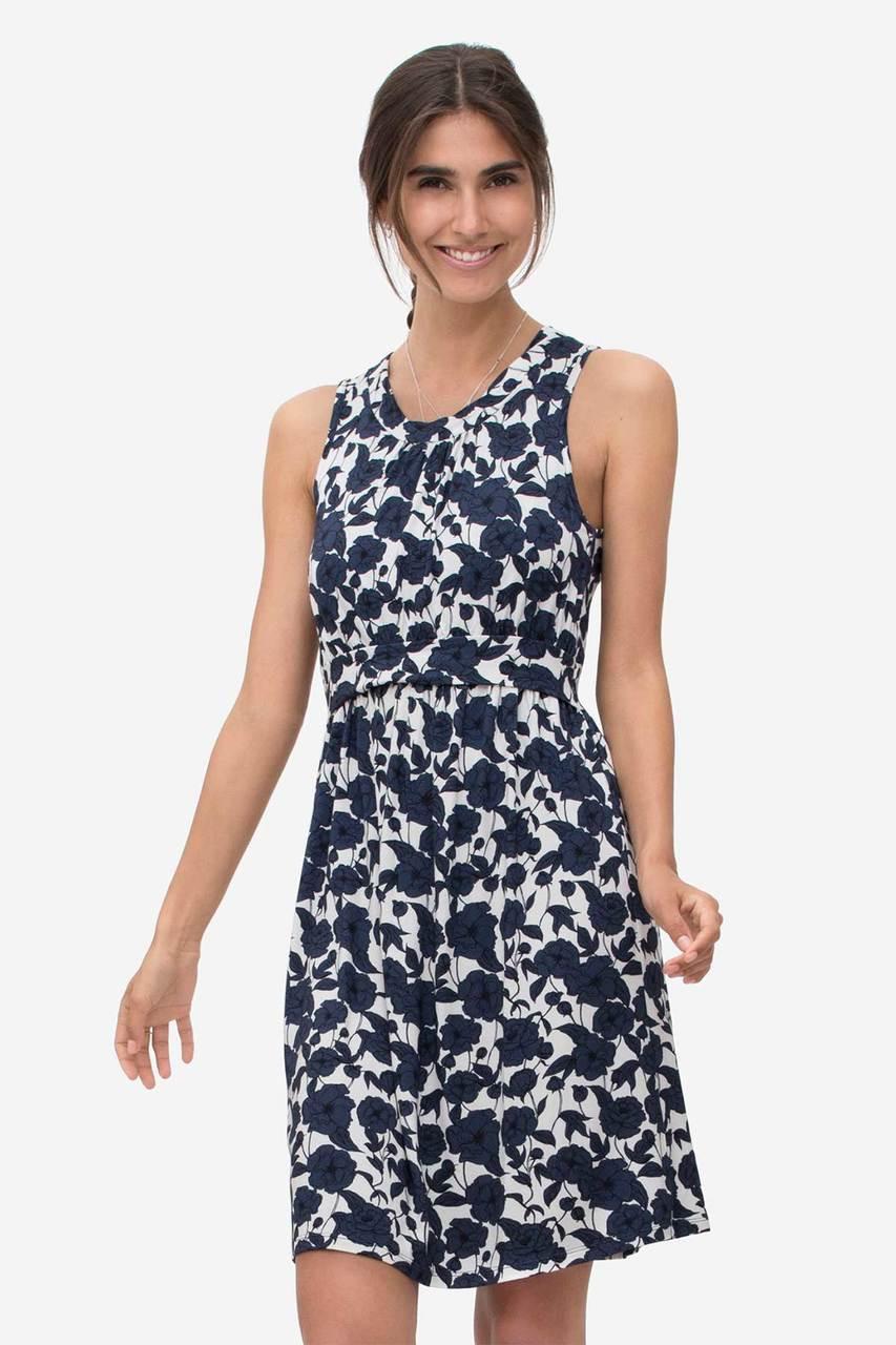 3e2392e7c0bb Milker Nursing Wear Zoo Floral Summer Nursing Dress
