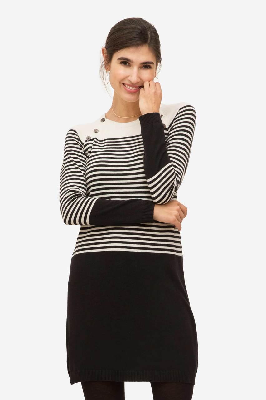c8c269e956 Milker Nursing Wear Leonora Wool Nursing Dress