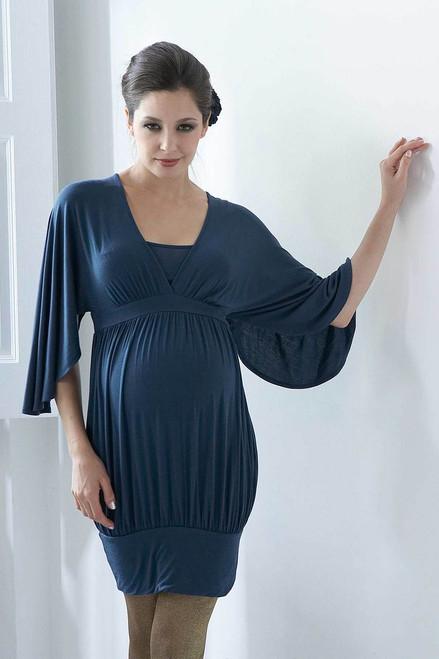 3d454a91633ca Mothers En Vogue Sleeveless Juliet Nursing Dress, Stargaze Blue ...