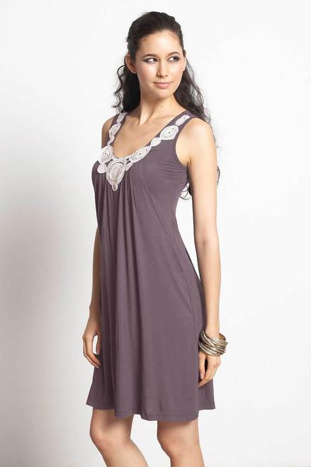 3f440f827e6 Mothers En Vogue Cocoon Drape Bamboo Nursing Dress, Nectarine ...