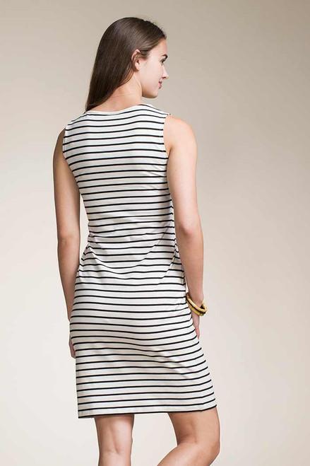 abbcf66b09b49 ... Boob Design Sleeveless Simone Nursing Dress, Black Sailor Stripe