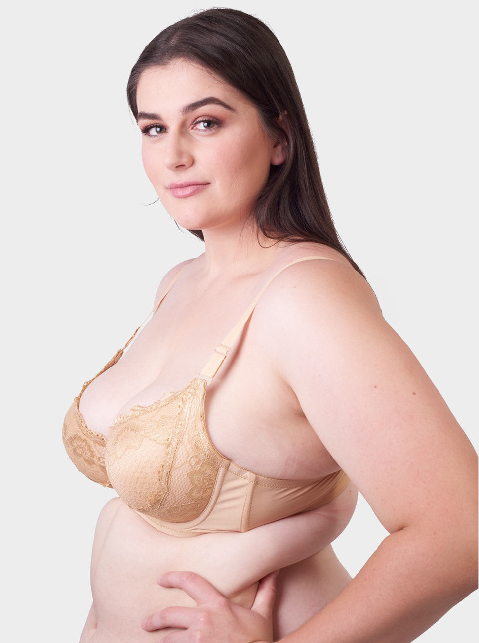 All Over Lace Contour Bra
