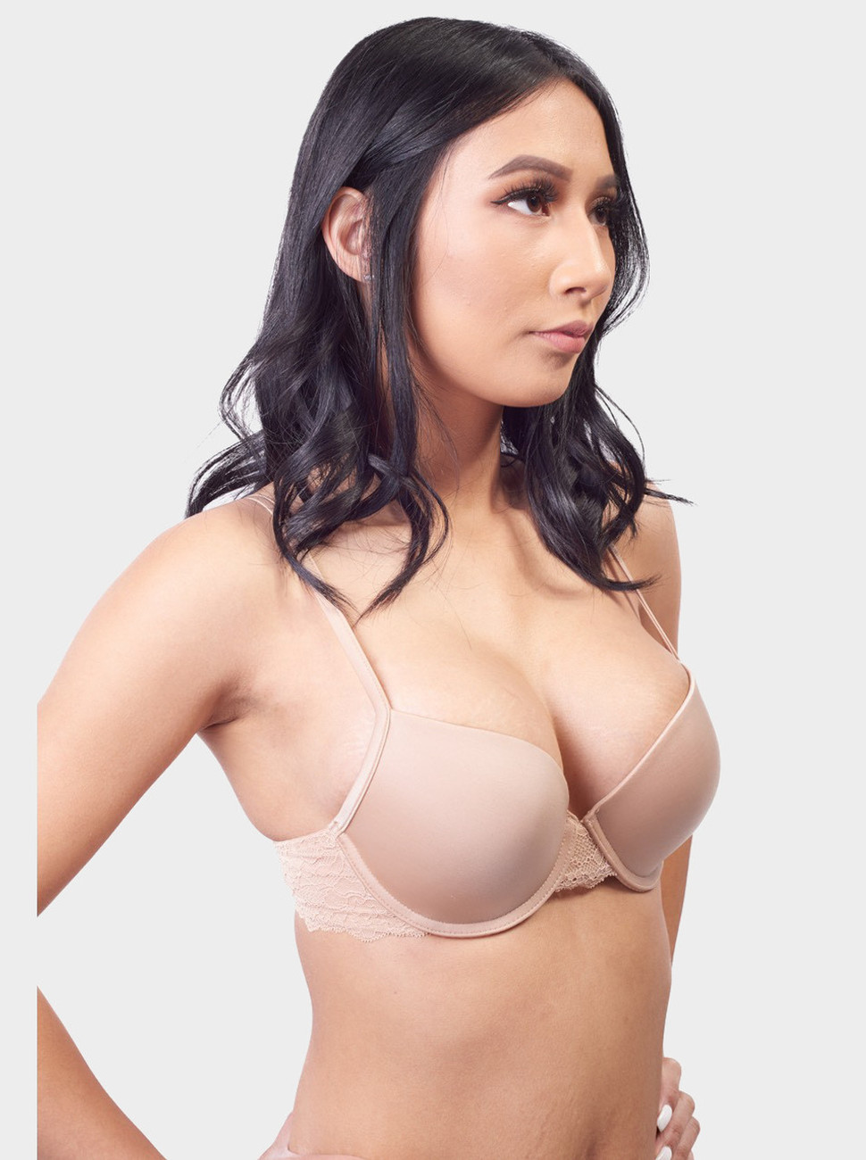 Curves & Moves Push Up Bra