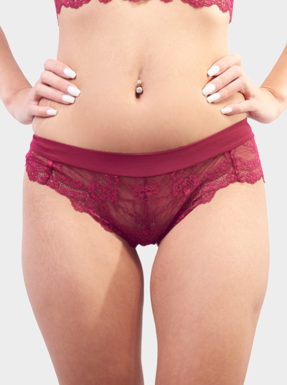 All Over Lace Brief