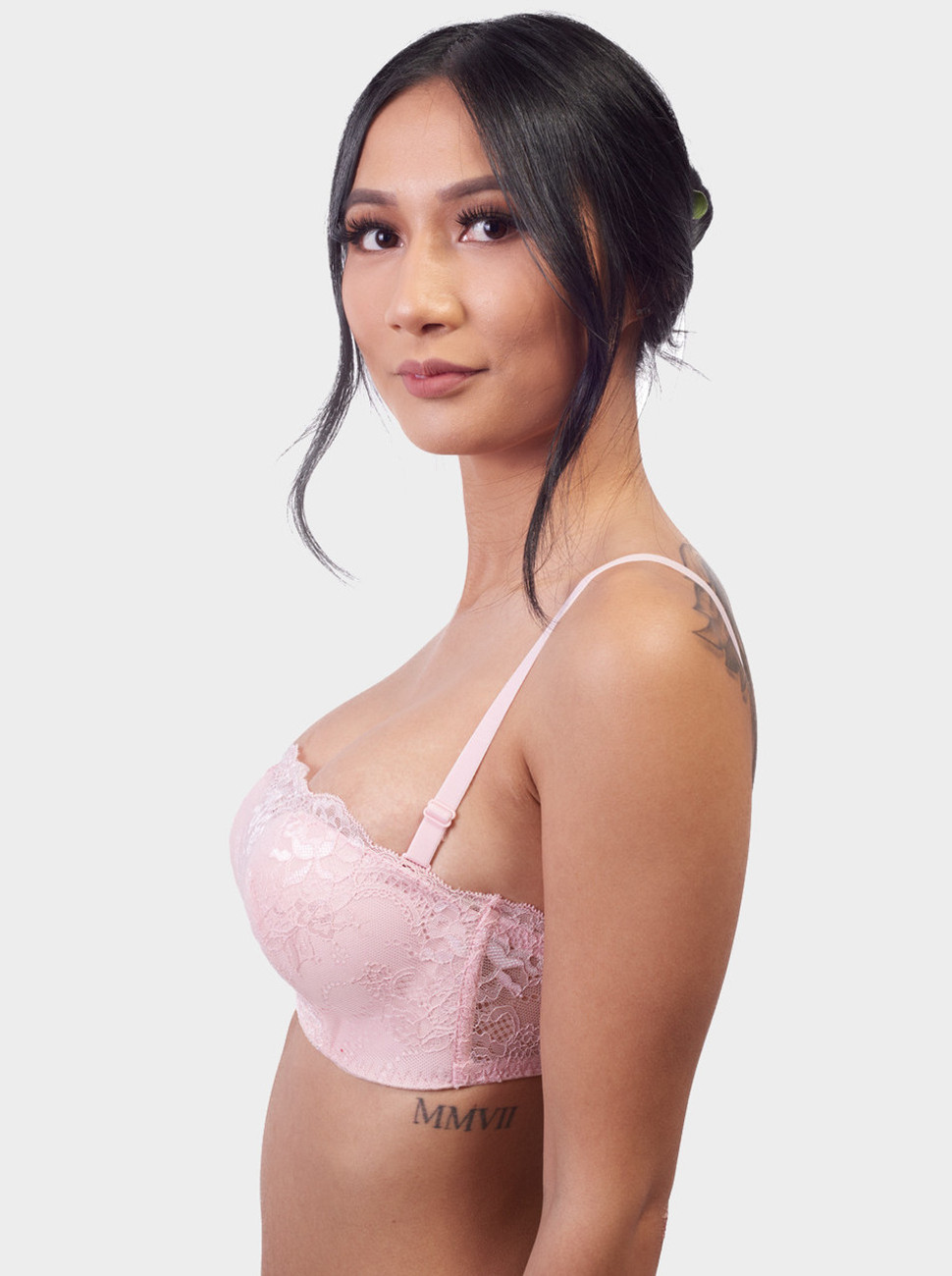 Sweetheart All Over Lace Push Up Bra