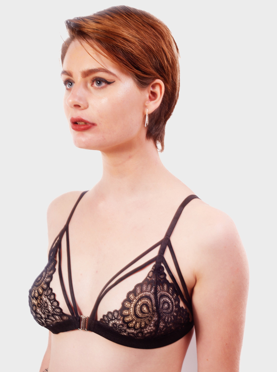 Lace Strappy Bralette