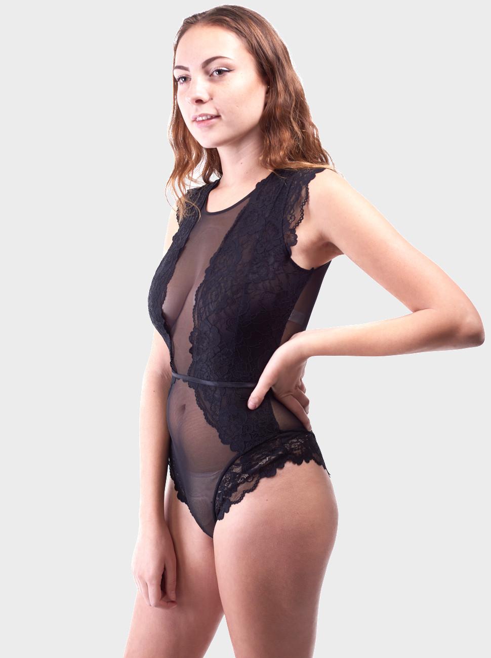 Katie Lace Cap Sleeve Bodysuit