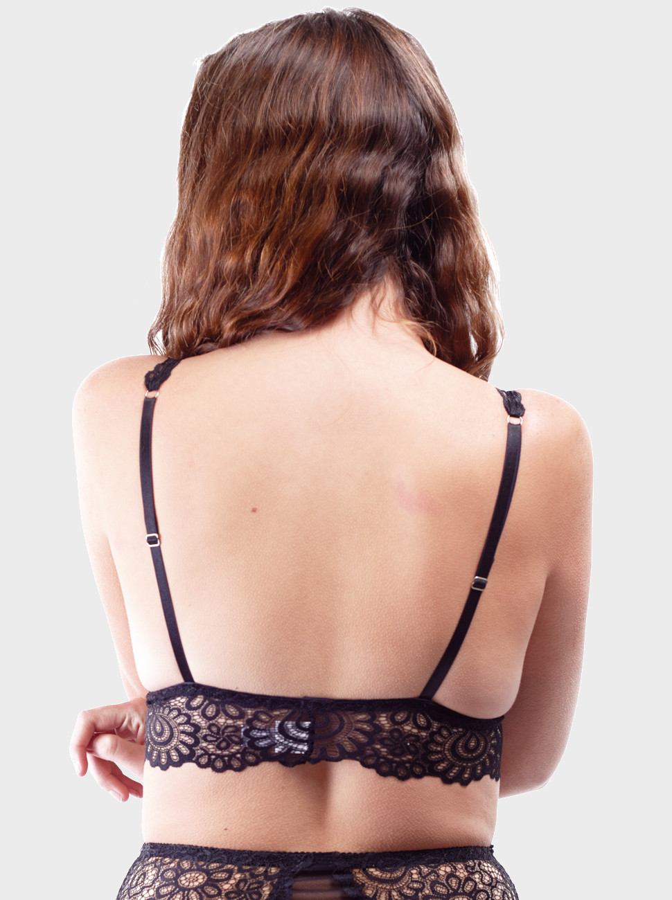 Kylie Long Line Lace Bralette