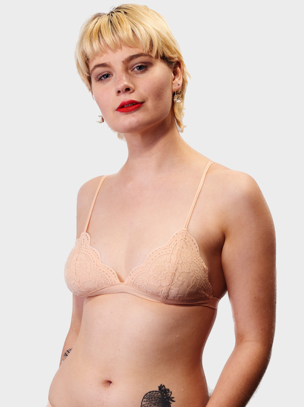 Lilly Rose Lace Triangle Bralette