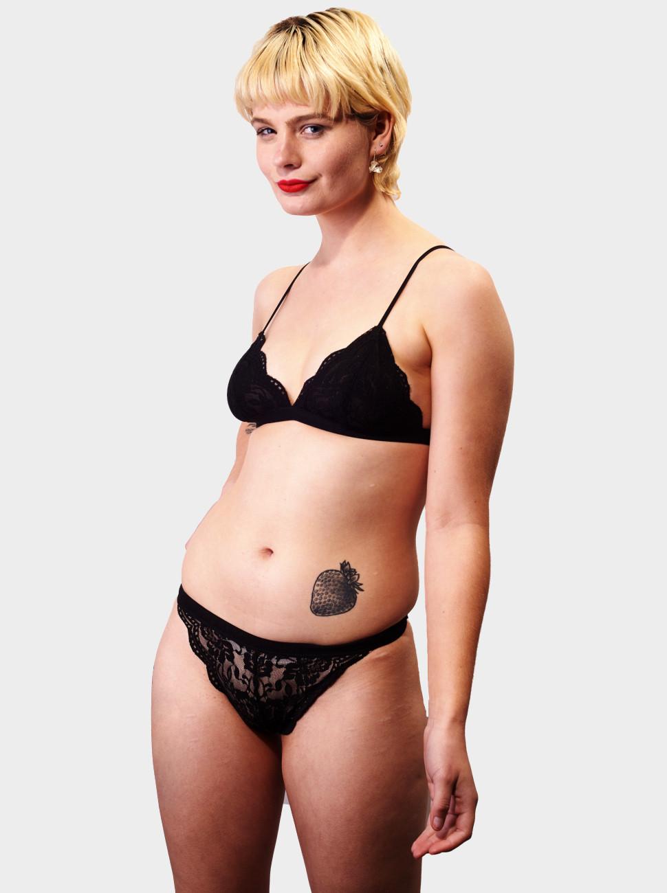Lilly Rose Lace Triangle Bikini