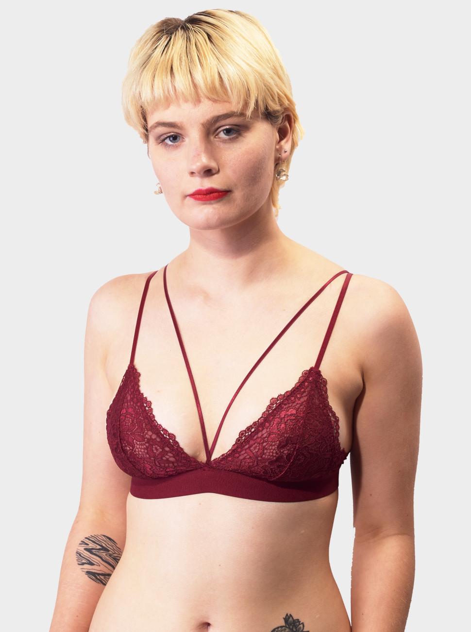 Chloe Lace Harness Bralette