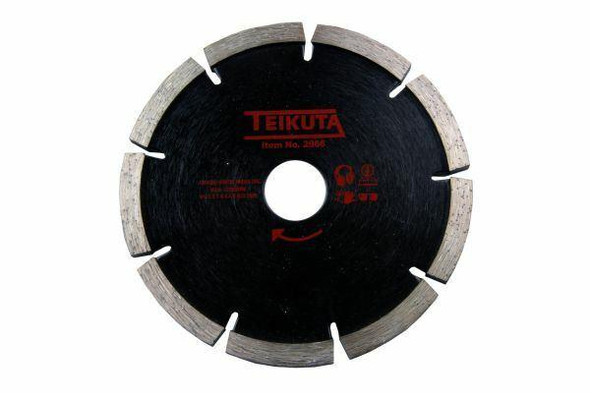 Teikuta Diamond Mortar Raking Disc 125mm Angle Grinder Disc 6.4mm thick 2966
