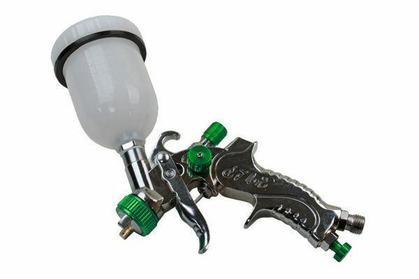 US PRO Mini HVLP Spray Gun 120ML Cup 1.0mm Nozzle 8771