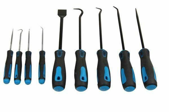 US PRO 9pc Heavy Duty Pick and Hook Set - Scraper and Hook Set 5035