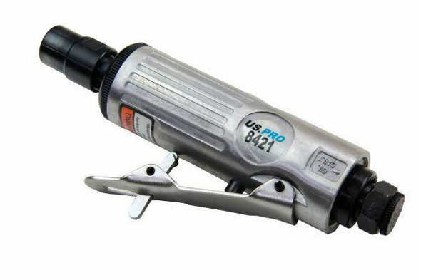 US PRO 1/4 Air Die Grinder - Compact and Lightweight 8421
