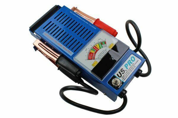 US PRO 6v - 12v 100 Amp Battery Load and Charging System Tester - Battery Test 7015