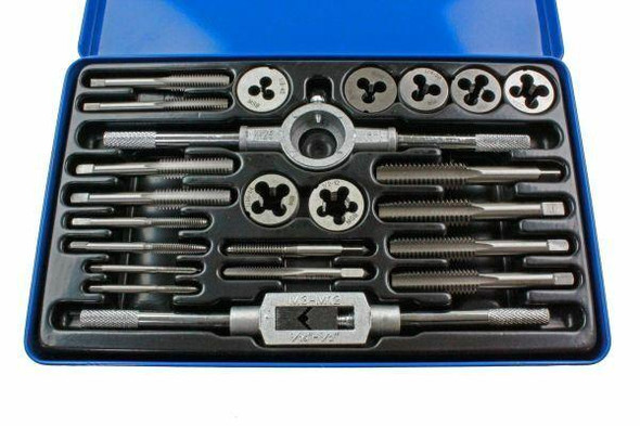 US PRO 23pc WHITWORTH Tap And Die Set 2640