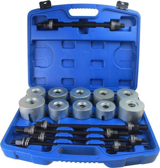 US PRO Tools 27pc Master Press And Pull Sleeve Kit - Remover Installer Master Seal Bushes Bearings 6262