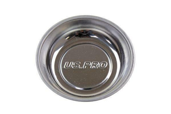 US PRO Tools 3 Magnetic Parts Tray/Bowl With Rubber base x 1 - 6783