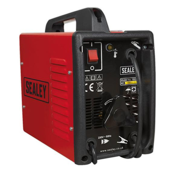 Sealey 160A Arc Welder with Accessory Kit 160XT