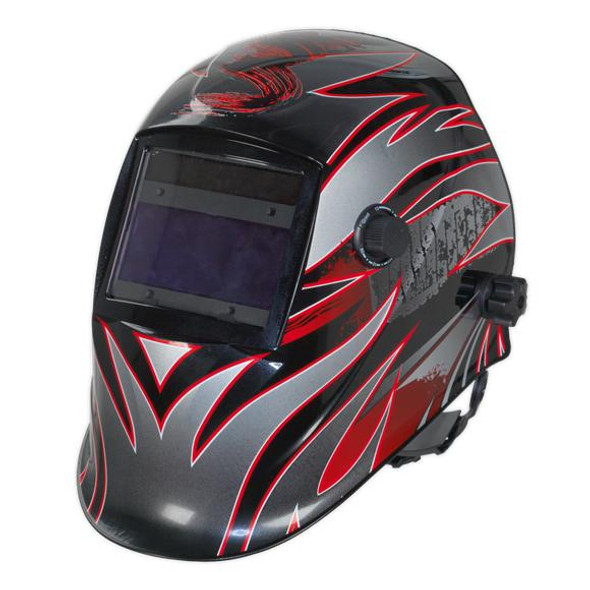 Sealey Welding Helmet Auto Darkening Shade- 9-13 PWH600