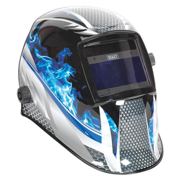 Sealey Welding Helmet Auto Darkening Shade- 9-13 PWH601