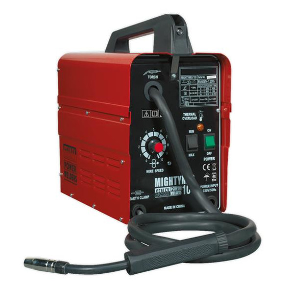 Sealey No-Gas MIG Welder 100A 230V MIGHTYMIG100