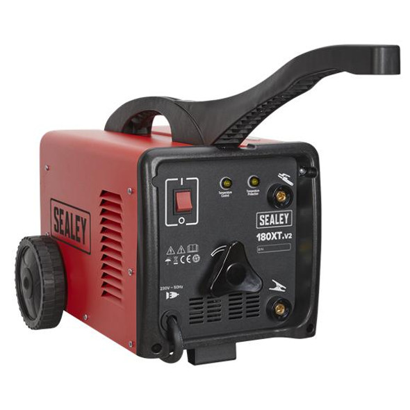 Sealey 180A Arc Welder with Accessory Kit 180XT