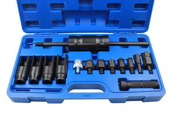US PRO Tools 14pc Injector Extractor Common Rail Adaptor Bosch Delphi etc 5597