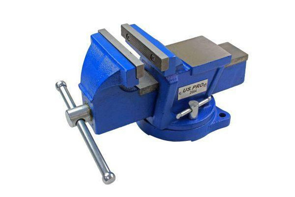 US PRO Tools 4 Heavy Duty Engineer Swivel Bench Vice Vise Clamp with Anvil 2664