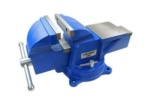 US PRO Tools 6 Heavy Duty Engineer Swivel Bench Vice Vise Clamp with Anvil 2668