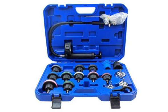 US PRO Tools 19 Piece Coolant System Pressure Tester Kit 5226
