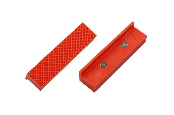 """VEWERK Engineers Vice Jaws 4"""" 100mm Magnetic Jaw Pads Bench Vice Non Marking 2676"""