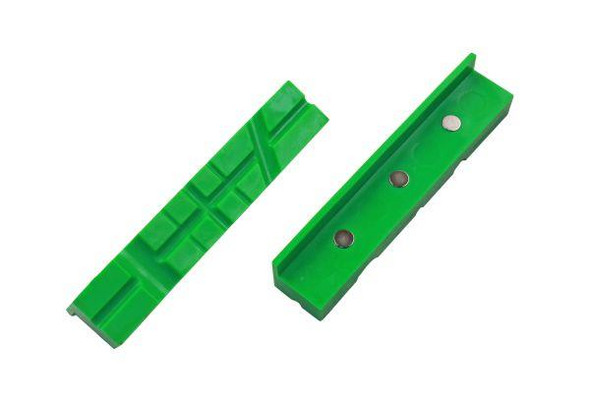 """VEWERK Engineers Vice Jaws 6"""" 150mm Magnetic Jaw Pads Bench Vice Non Marking 2675"""