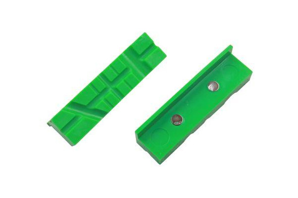 """VEWERK Engineers Vice Jaws 4"""" 100mm Magnetic Jaw Pads Bench Vice Non Marking 2674"""