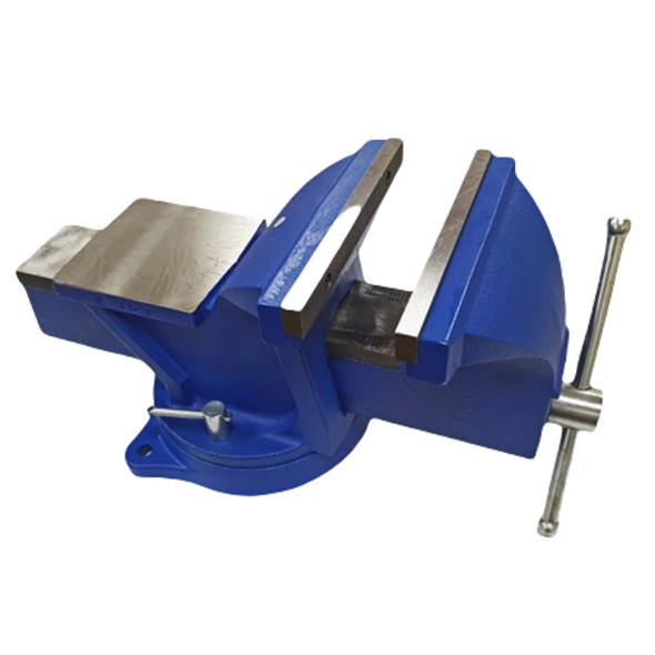 """Toolzone 8"""" Heavy Duty Engineer Swivel Base Bench Vice Vise Clamp with Anvil VC042"""