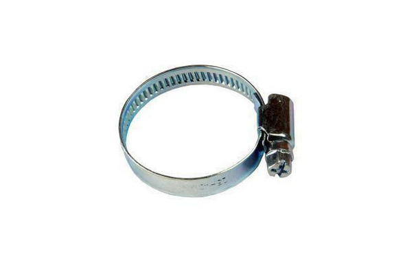 US PRO 25 - 40mm zinc plated Steel Hose clamps Jubilee clip style 100 pack 2997 X 100