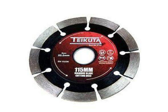 SEGMENTED DIAMOND BLADE 115 x 22.2mm B8104