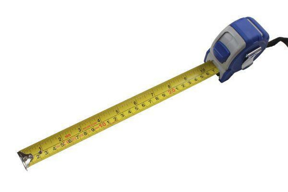 US PRO Tools 5 Meter / 16ft Grip Lock Tape Measure With Nylon Coating 9063