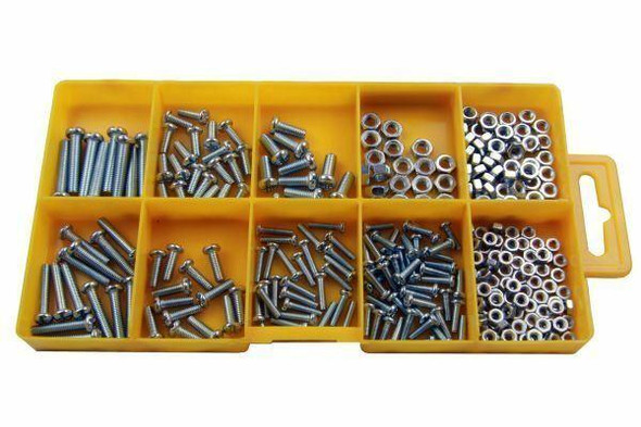 Resolut 275 Piece Assorted Metric Machine Screws and Nuts 2950