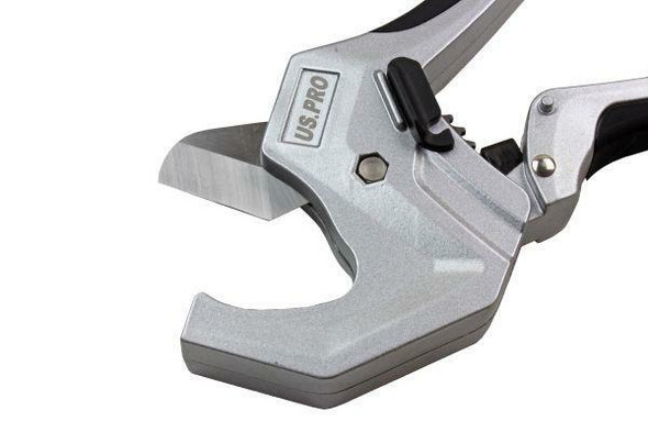 US PRO Tools PVC Pipe Cutter - Metal Body and Stainless Steel Blade PVC, PPR, PE, PEX 9062