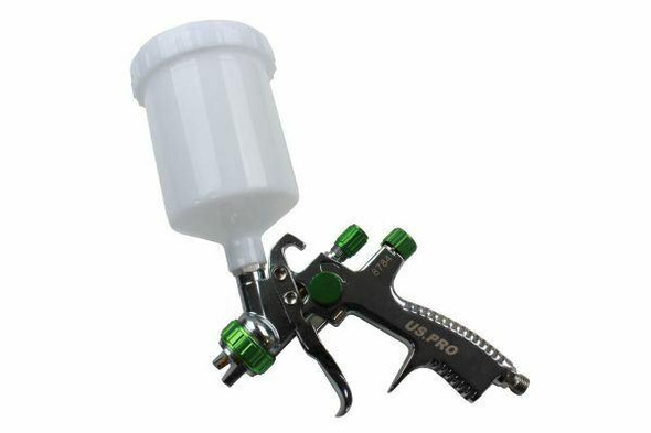 US PRO 1.4MM Nozzle LVLP Gravity Feed Spray Gun 600ML 8784