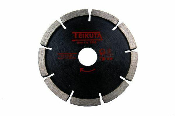 Teikuta Diamond Mortar Raking Disc 115 X 7 X 8 X 22.2MM 2968
