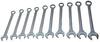 12-Point SAE Jumbo Raised Panel Combination Wrench Set, 10Pc