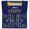 117 Piece Fractional/Metric Tap, Dies, and Drill Bit Deluxe Set