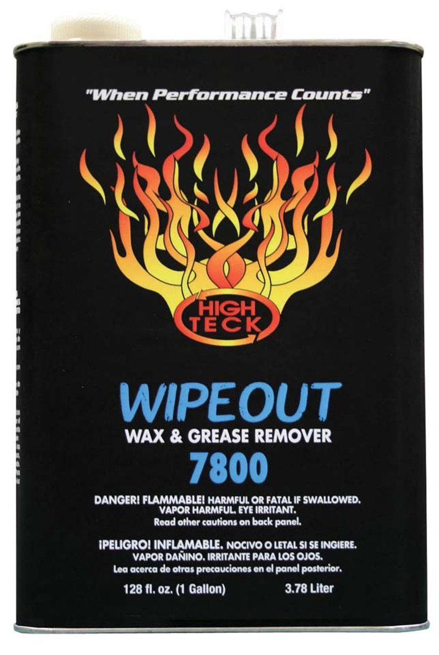 Wipeout Wax & Grease Remover 7800-4